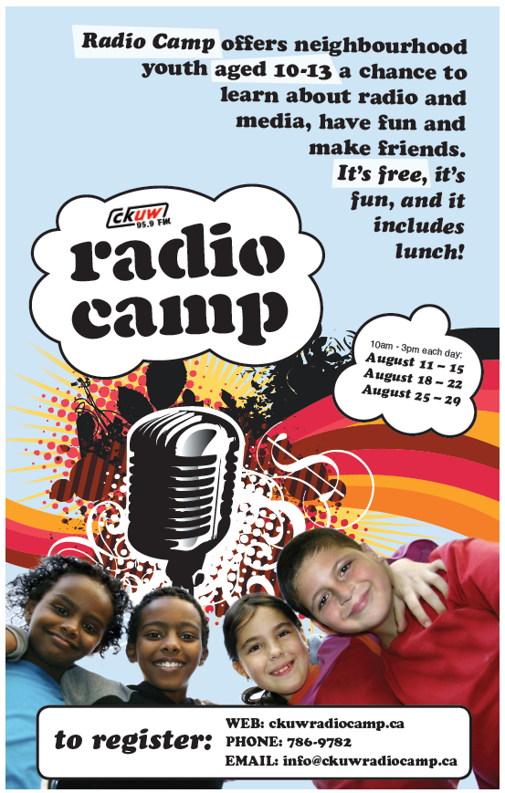 2014 camp Poster
